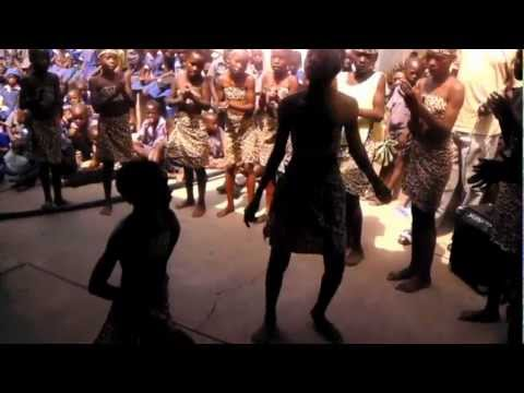 Traditional DANCE DRAMA by Children on Thanksgiving Day in Zimbabwe, Africa