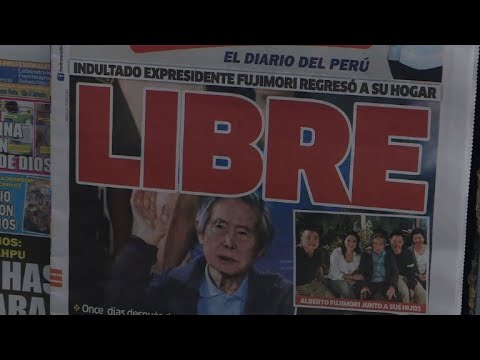 Divided reactions in Lima after Fujimori released from hospital