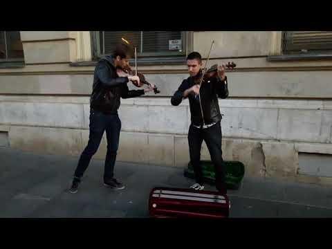 Zagreb Street  Musicians - Coldplay - Viva La Vida
