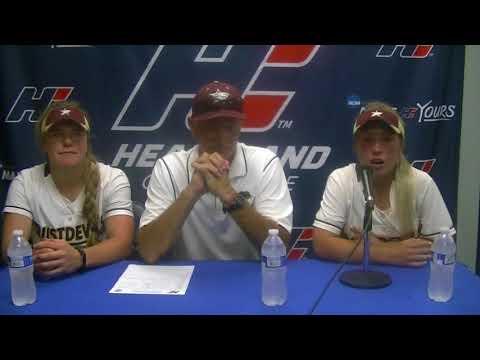 2018 Softball Championship Postgame Press Conference - Texas A&M International - Game 1