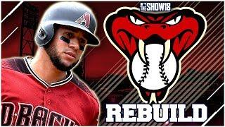 ARIZONA DIAMONDBACKS REBUILD!! | MLB the Show 18 Franchise Rebuild