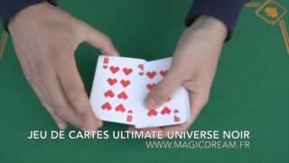 Magic Dream Paris - magie - JEU DE CARTES ULTIMATE UNIVERSE NOIR - www.magicdream.fr