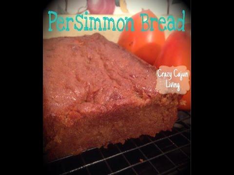 Persimmon Bread- VIDEO RECIPE