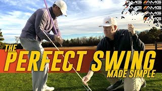 The Perfect Golf Swing Made SIMPLE 🏌️♂️