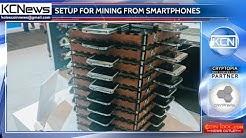 Samsung built the setup for mining from the old Galaxy S5