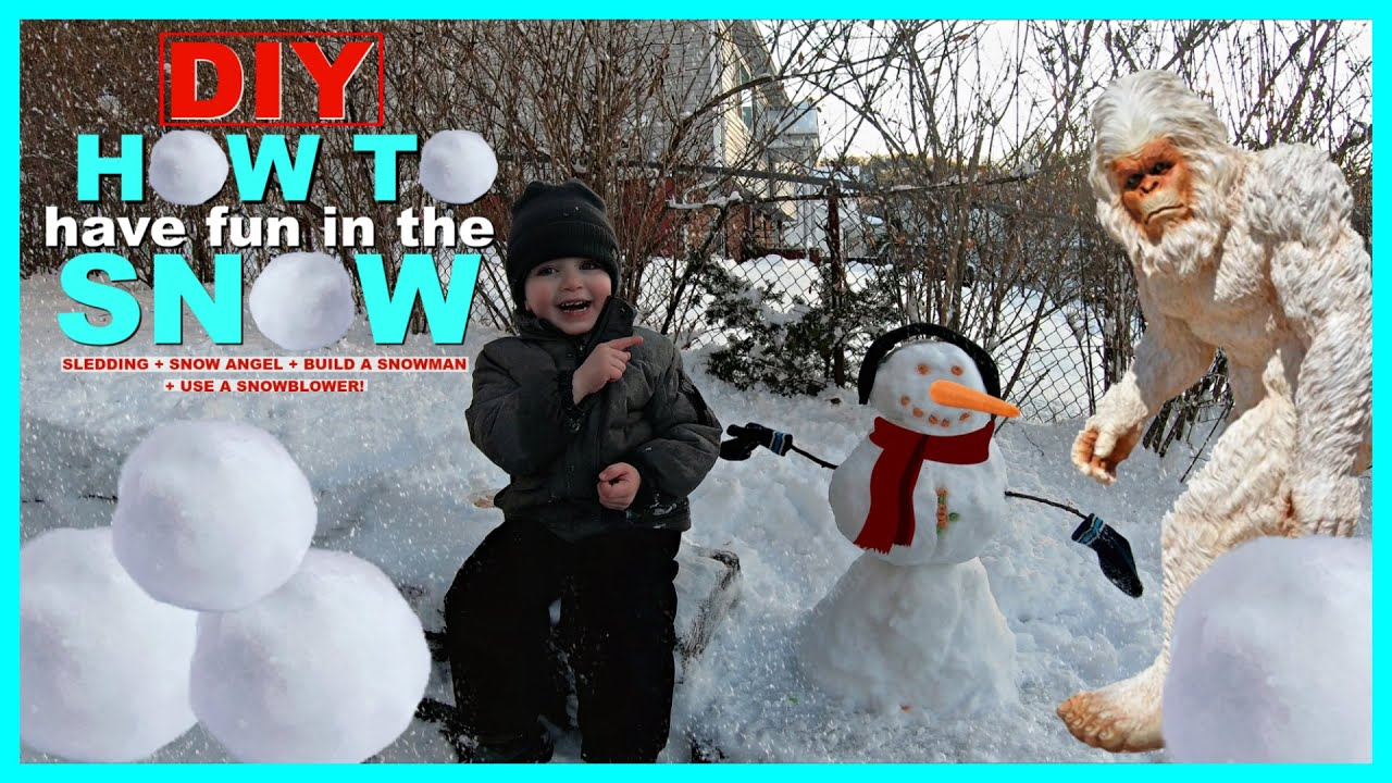 DIY How to Have Fun & use your imagination sledding in the ...