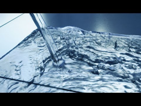 Blender Tutorial - Realistic Fluid Simulation