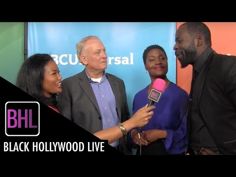 Cast of 'Game of Silence'' 2  NBC Universal Press Tour 2016  Black Hollywood Live