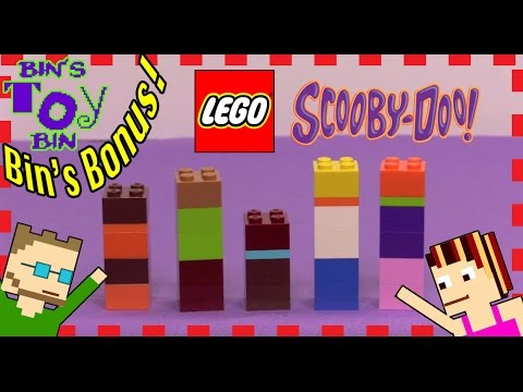 BIN'S BONUS - Scooby-Doo LEGO Exclusive Mystery Inc. Surprise Bricks Set! | Bin's Toy Bin