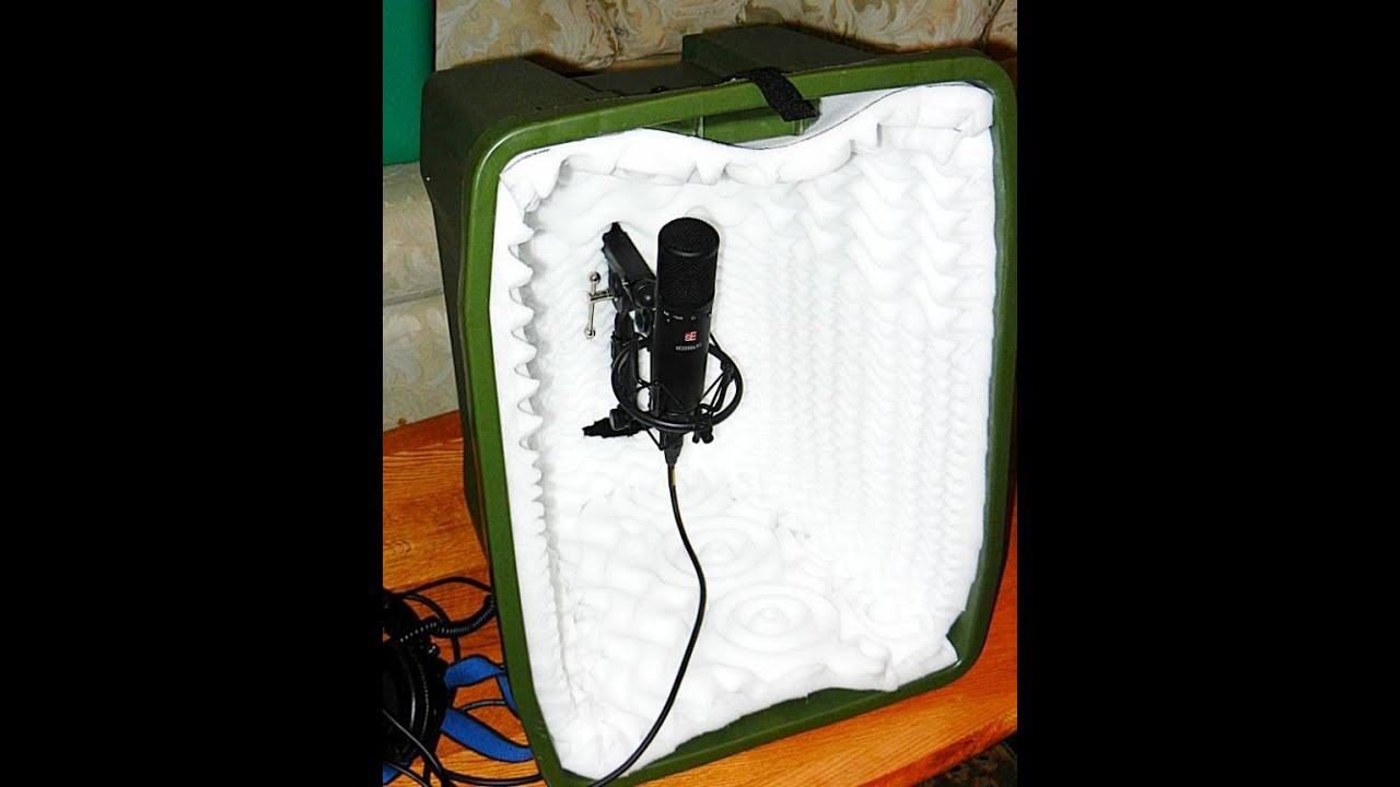 Best acoustic isolation vocal booth mic booth microphone box best acoustic isolation vocal booth mic booth microphone box with boom for 50 do it yourself solutioingenieria Images
