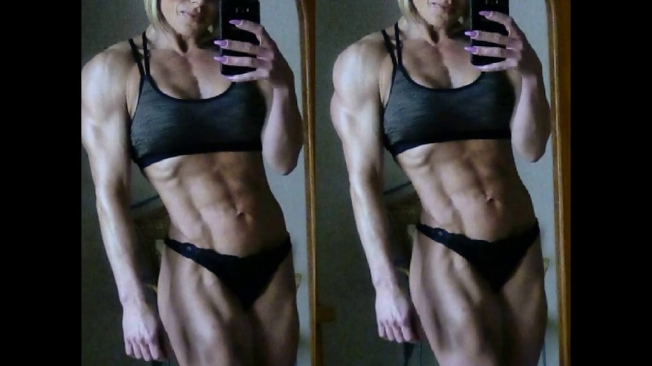 Female Body Builder Massive Muscles Fbb Youtube