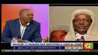 Citizen Extra : CJ Maraga has instituted a juducial coup thumbnail