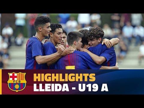 [HIGHLIGHTS] FUTBOL (Juvenil A): Lleida - FC Barcelona (2-4)