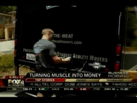 Fox Business News: Turning Muscle into Money [Meathead Movers]