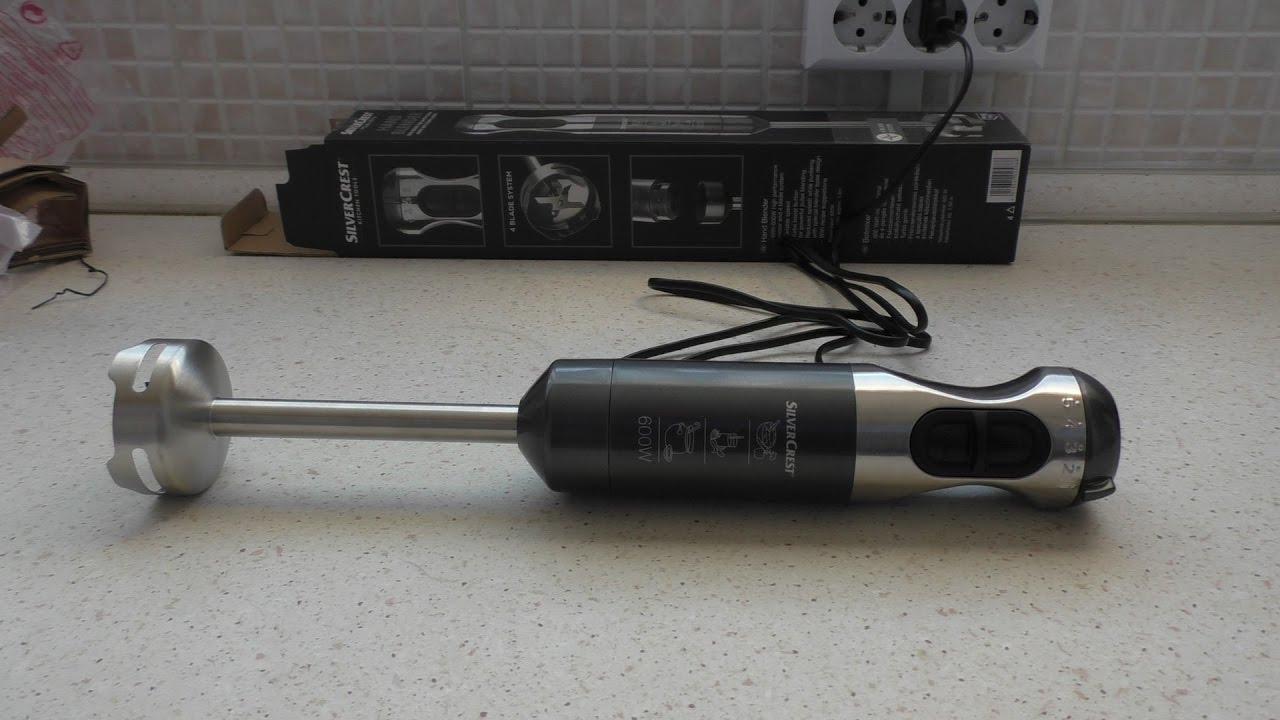 Lidl Silvercrest Fleischwolf Silvercrest Hand Blender From Lidl Unboxing And First Try