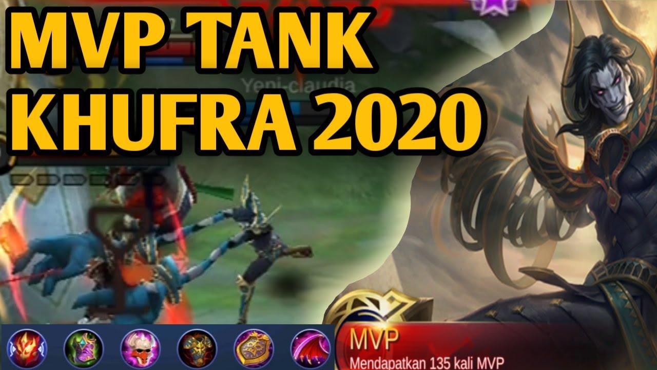 KHUFRA MVP PERFECT GAMEPLAY NEW BUILD TERSAKIT 2020 MOBILE LEGENDS