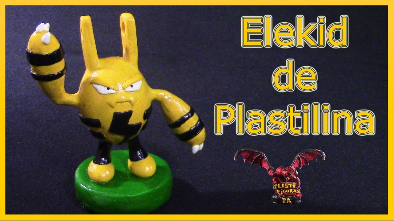 how to make pokemon with clay
