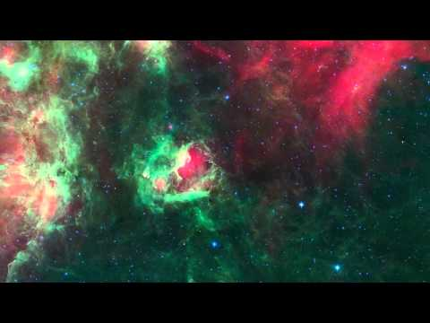 NASA/Spitzer | Cygnus X Marks the Spot (HD)