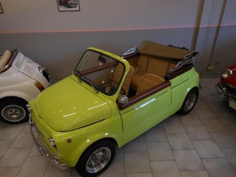 Video Fiat 500 Jolly Replica Sold