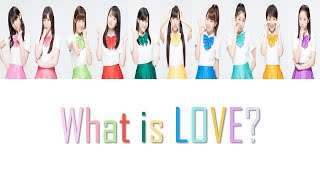 morning musume 14 モーニング娘。14 what is love? lyrics color coded kanromeng