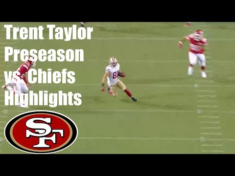 Trent Taylor San Francisco 49ers First Half Highlights