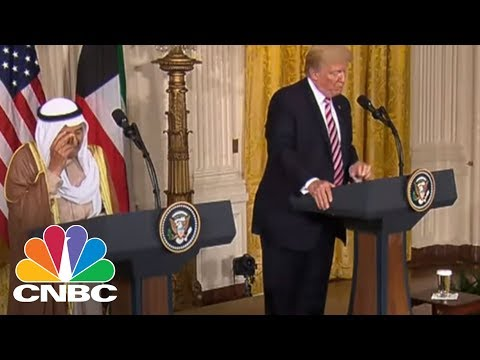 President Donald Trump: We Thank Kuwait For Partnership In Fight To Destroy ISIS | CNBC