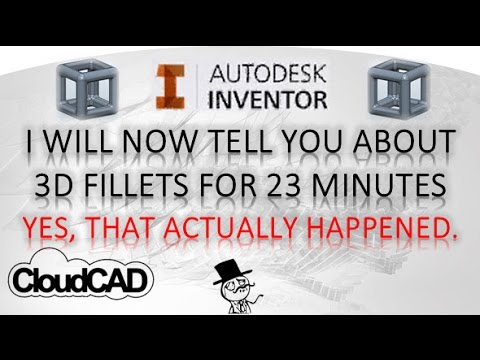 3D Fillets (almost) Everything you need to know | Autodesk Inventor