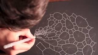 Accretion Disc Geometric ASMR Drawing