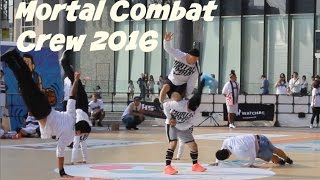 Mortal Combat Bboy crew performance for KPAS 2016. Crazy airchair, handstand and power move combos.