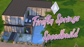 The Sims 4 | Firefly Springs Speedbuild | Mousie
