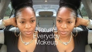Natural Quick & Easy Everyday No Makeup Makeup Tutorial For School Or Work