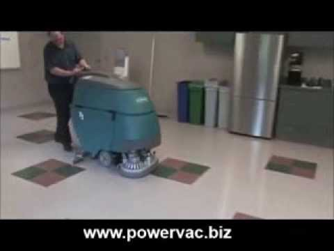Powervac tennant t5 floor scrubber operator training video for Floor operator