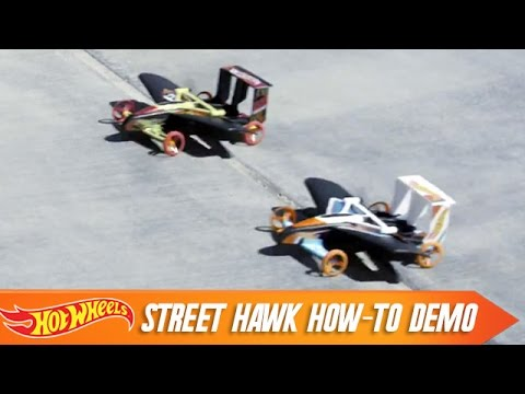 street hawk how to demo hot wheels youtube