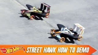 Street Hawk How-To Demo | Hot Wheels