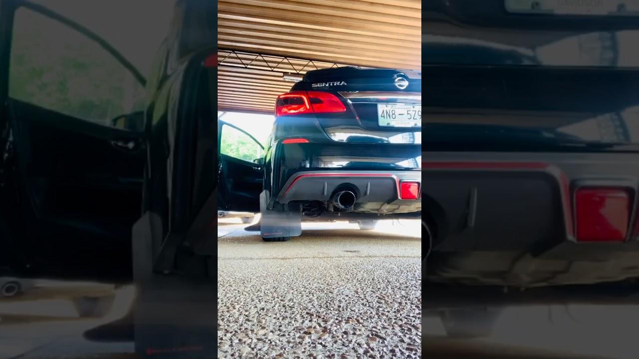 Sound Clip!! 2JR B17 Sentra Nismo Full Race Catback