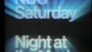NBC bumper for Kiss Meets the Phantom 1978