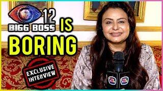 Divyajyotee Sharma Calls Bigg Boss 12 BORING | Exclusive Interview