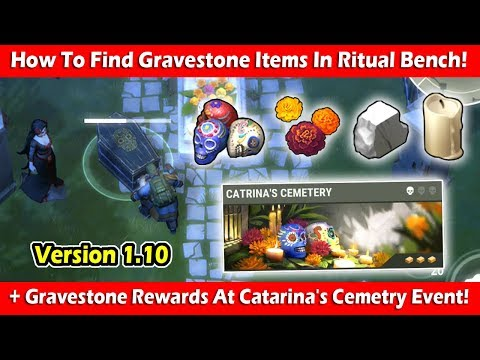 Catrina's Cemetery Event + How To Find Gravestone Items! Last Day On Earth Survival