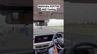 Download Mahindr XUV700 Auto Emergency Brakes (AEB)