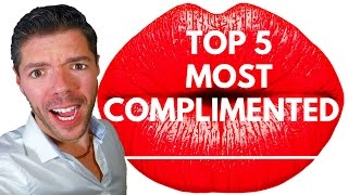 Top 5 Most Complimented Men