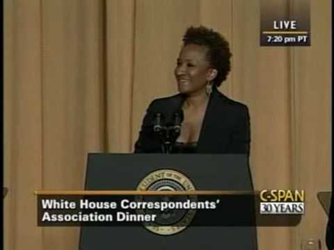 Thumbnail: Wanda Sykes at the 2009 White House Correspondents' Dinner