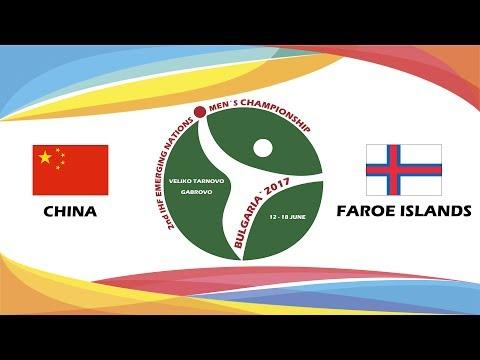 CHINA - FAROE ISLANDS
