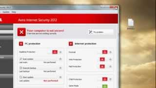 Downlaod avira internet security 2012 + Activation key until 2014