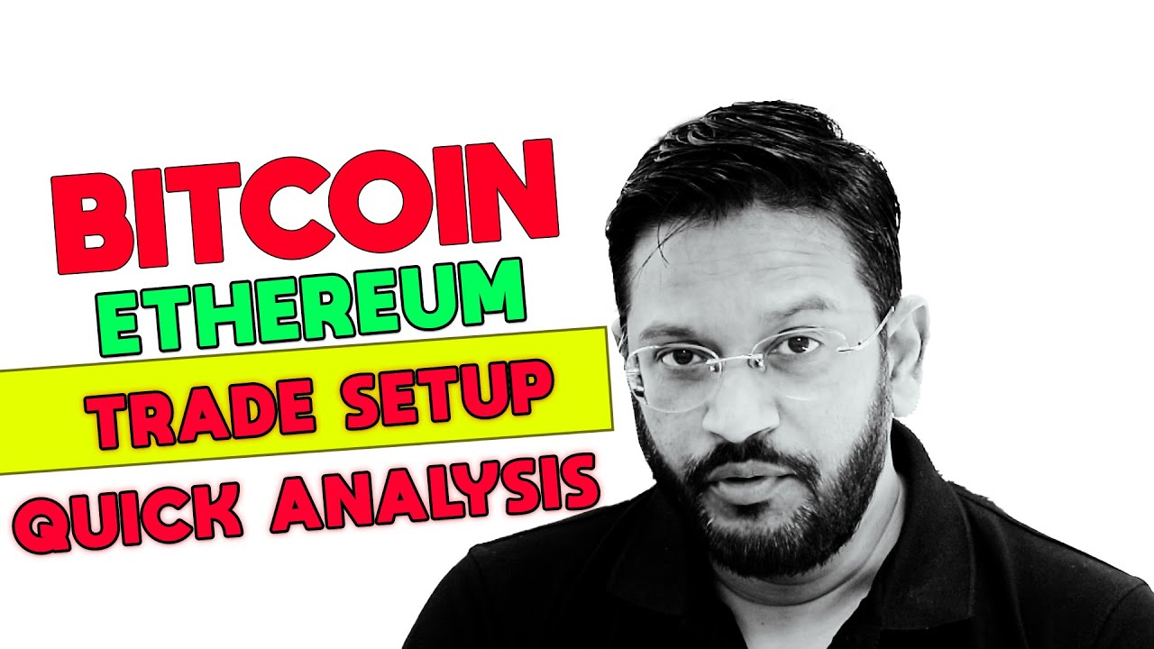 3 Minutes Quick update. Bitcoin Ethereum Scalping Trade Setup.