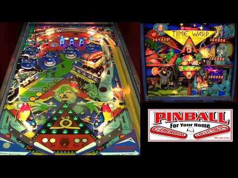 Time Warp Pinball Machine ~ 1979 Williams