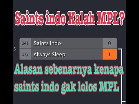 Alasan Kenapa Saints Indo 1 Gak Lolos MPL