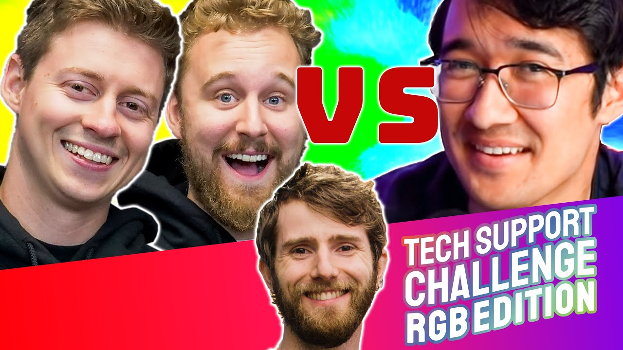 ULTIMATE RGB PC Tech Support Challenge!!