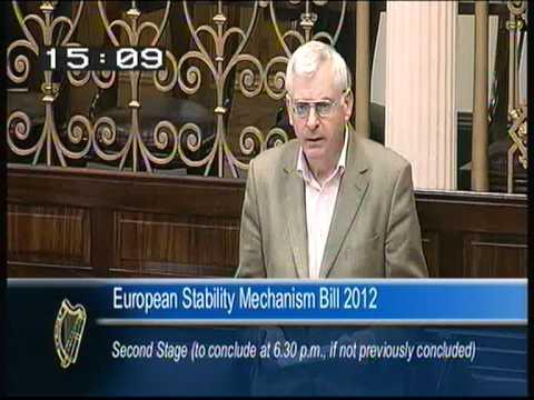 Joe Higgins TD on the European Stability Mechanism Bill