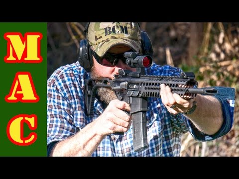New Sig Sauer MCX 5.56 Rifle