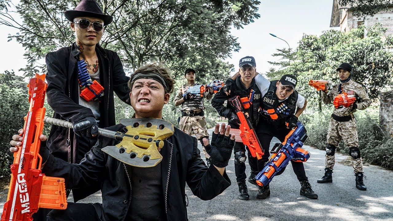 LTT Game Nerf War : Nerf Shooter Warriors SEAL X Nerf Guns Fight Rocket Crazy Protect Secrets